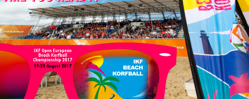Group stage draw revealed for inaugural Open European Beach Korfball Championship