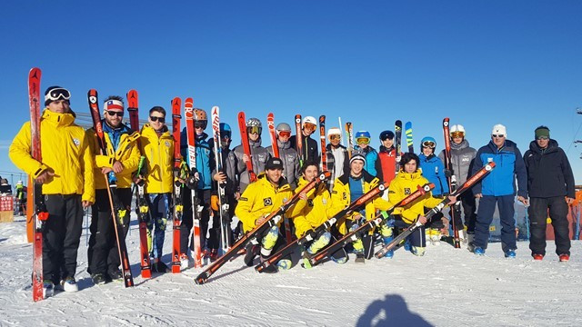 FIS development programme camp underway in Chile