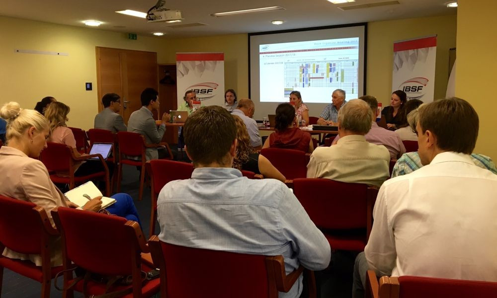 IBSF hold annual race organisers and track managers meeting