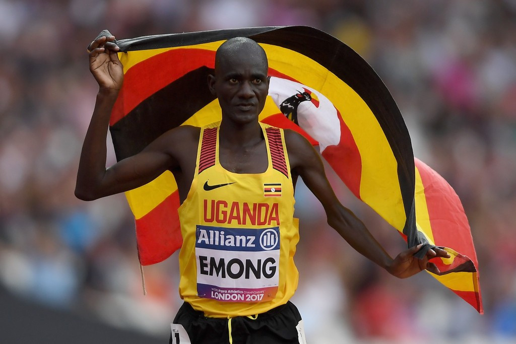 David Emong won Uganda's first-ever World Para Athletics Championships gold medal last night ©Getty Images