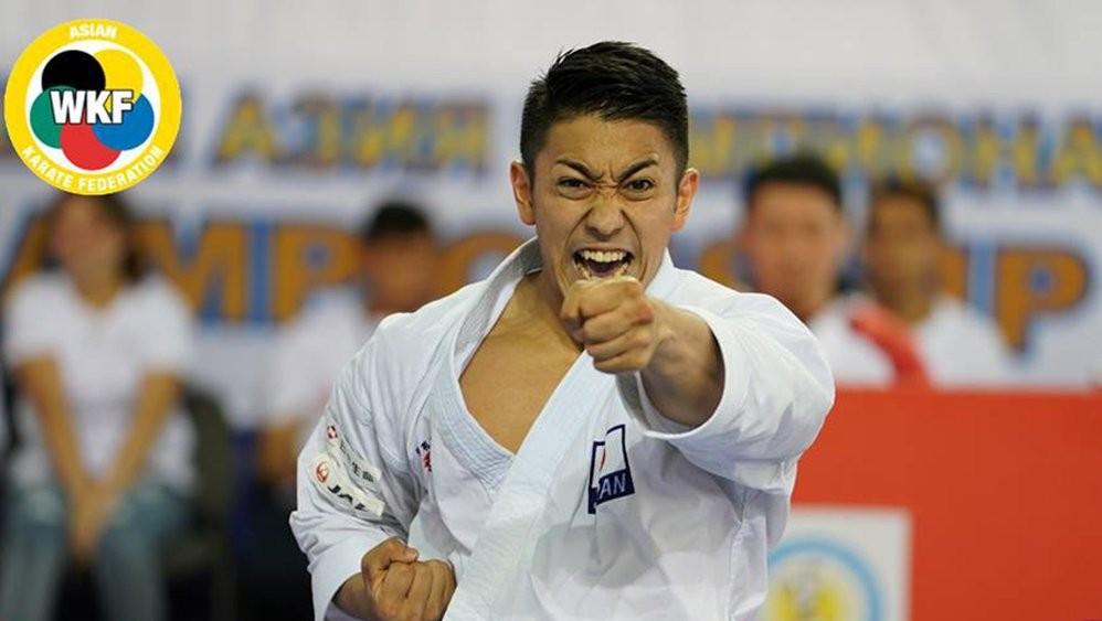 World champion Kiyuna reaches Asian Karate Championships final
