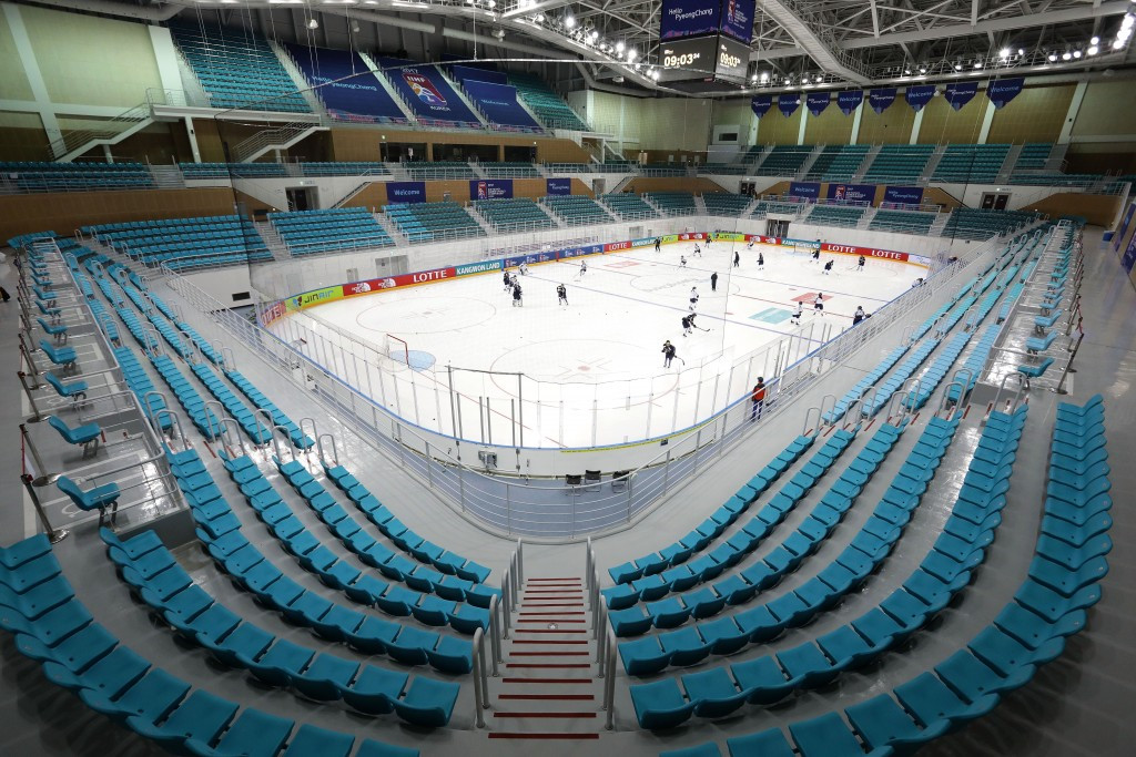 Ice hockey, curling and speed skating bodies will use the centre prior to Pyeongchang 2018 ©Getty Images
