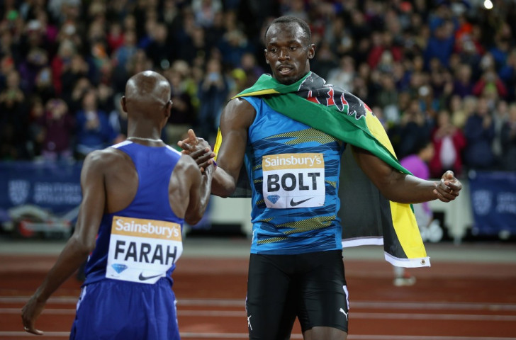 Some fans missed Usain Bolt and Mo Farah come out on top in the men's 100m and 3,000m events respectively