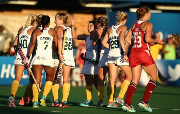 South Africa delight home fans by reaching last eight of Hockey World League semi-final