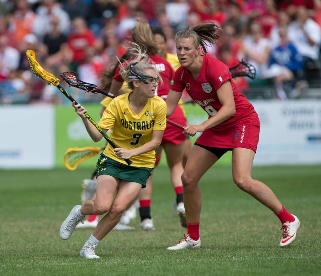 Hosts England beaten by Australia at Women's Lacrosse World Cup