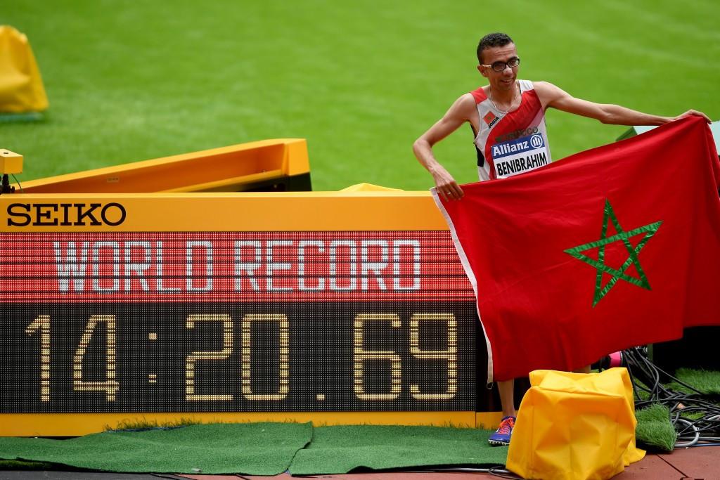 Morocco's Benibrahim smashes 5,000m world record on day three of World Para Athletics Championships