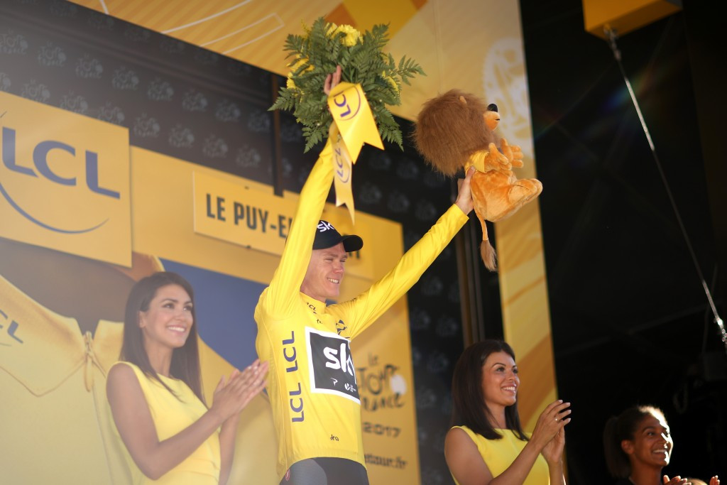 Chris Froome will take the race lead into the final rest day ©Getty Images