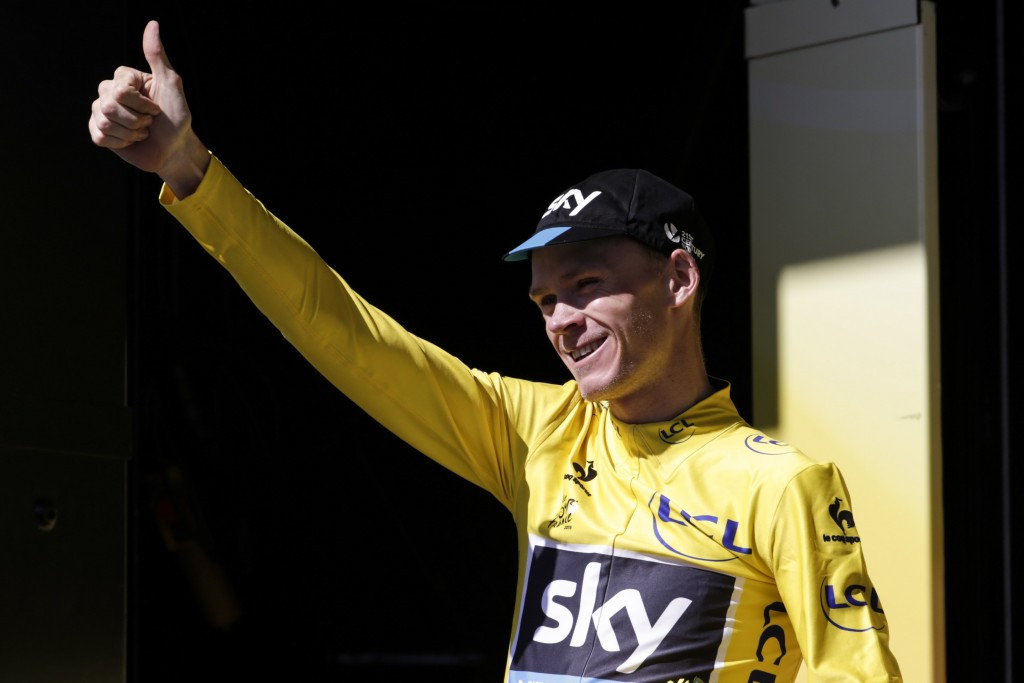 Cycling champion Chris Froome has become the latest to criticse the IAAF anti-doping approach ©Getty Images