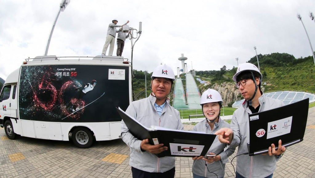 The KT Corporation are working to provide IT services both at and away from Games venues ©Pyeongchang 2018
