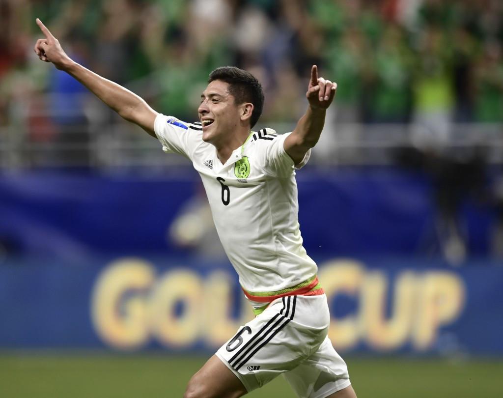 Edson Alvarez scored Mexico's second as they beat Curaçao ©Getty Images