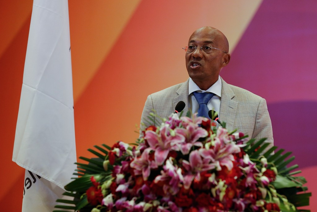 Namibia's Frank Fredericks temporarily stepped aside from his IAAF Council role when the accusations emerged ©Getty Images