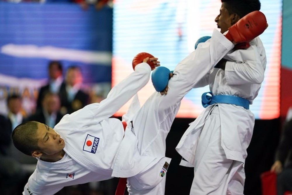 Japan were among the most successful nations in Astana ©WKF
