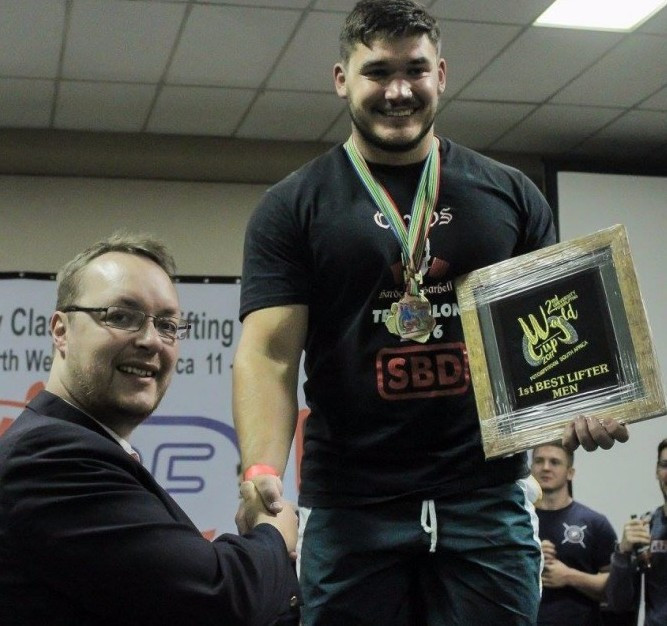 Maritz and Ho named top performers at World University Powerlifting Cup