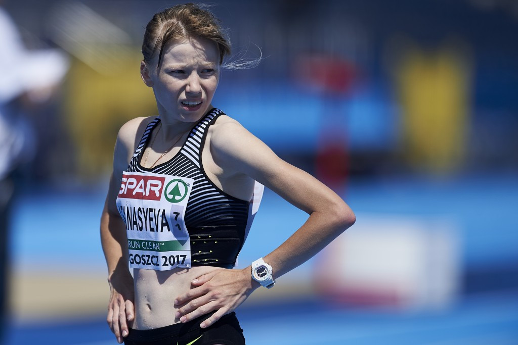 The Russian Athletics Federation has confirmed it intends to ask the IAAF to allow race walker Klavdiya Afanasyeva to compete at next month's World Championships ©Getty Images
