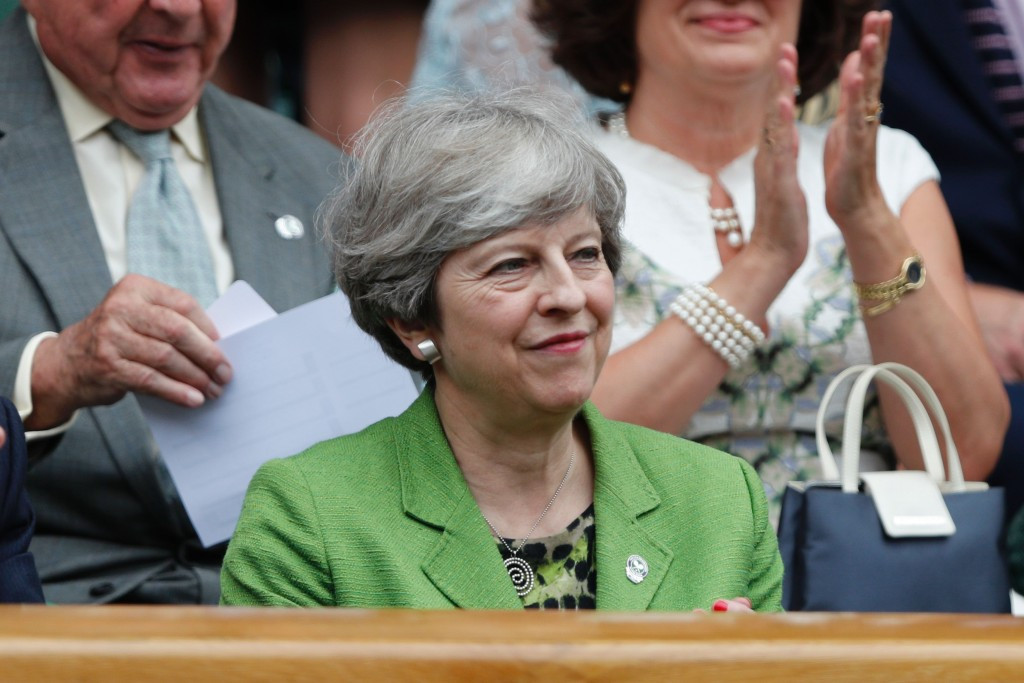 British Prime Minister Theresa May could learn a few things from IOC President Thomas Bach about strategy ©Getty Images