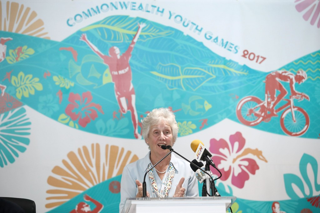 "CGF President Martin praises ""tremendous"" work of Commonwealth Youth Games organisers"