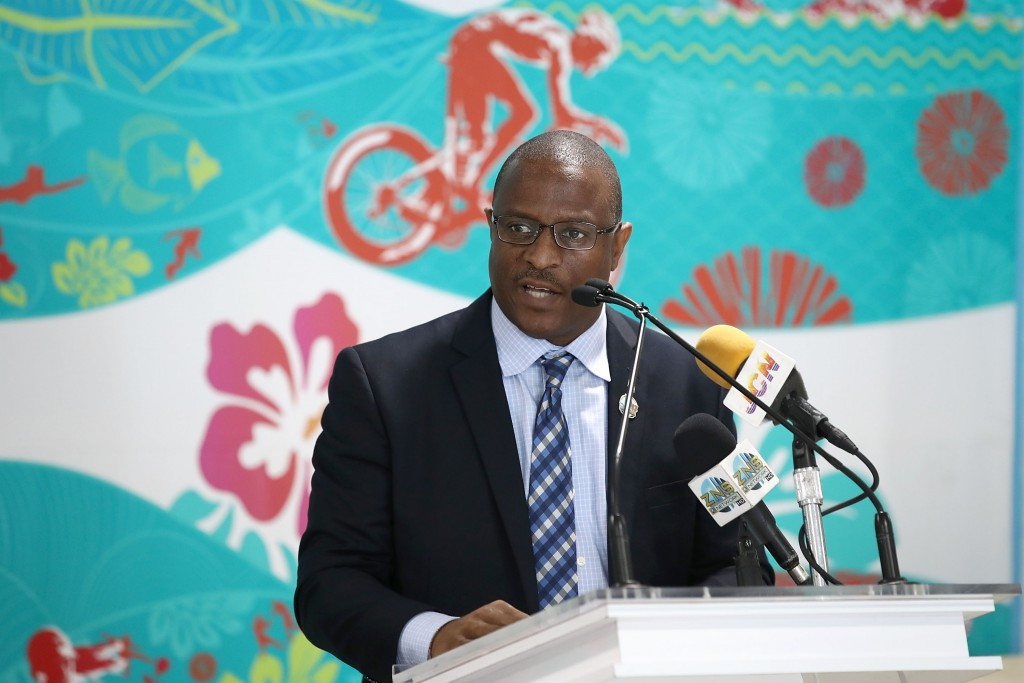Michael Pintard, Minister of Youth, Sports, and Culture hopes the event will help persuade other IFs to bring their major Championships to The Bahamas ©Getty Images