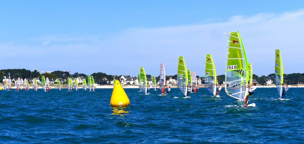 The techno 293 plus class for youth windsurfers will be held instead of the techno 293 discipline at the 2018 Youth Olympics ©World Sailing