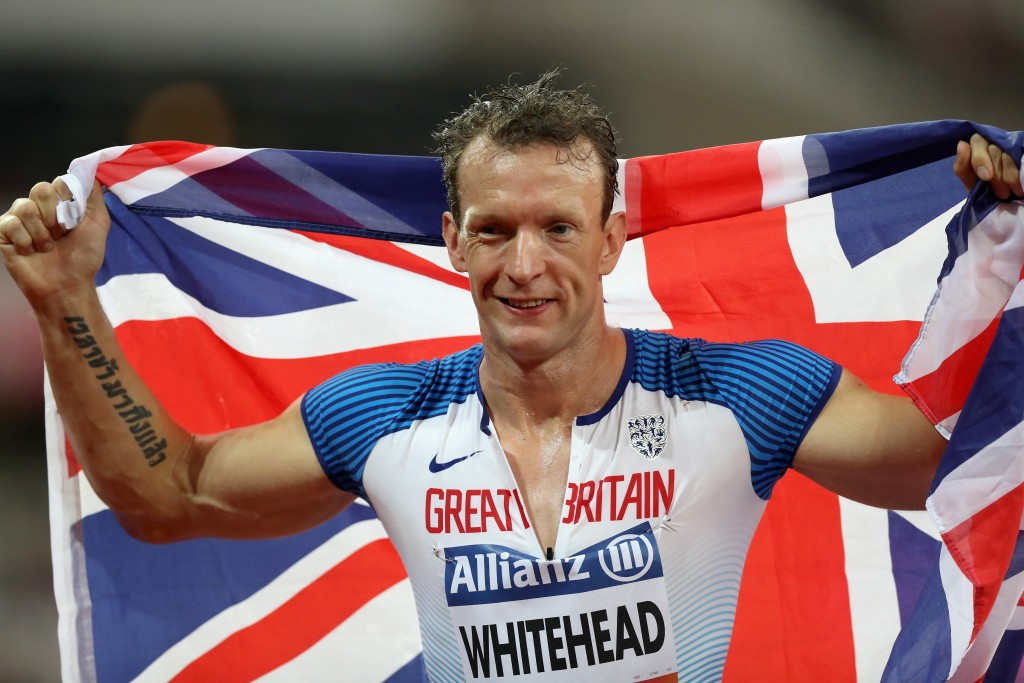Britain's Whitehead slams IPC over exclusion of event