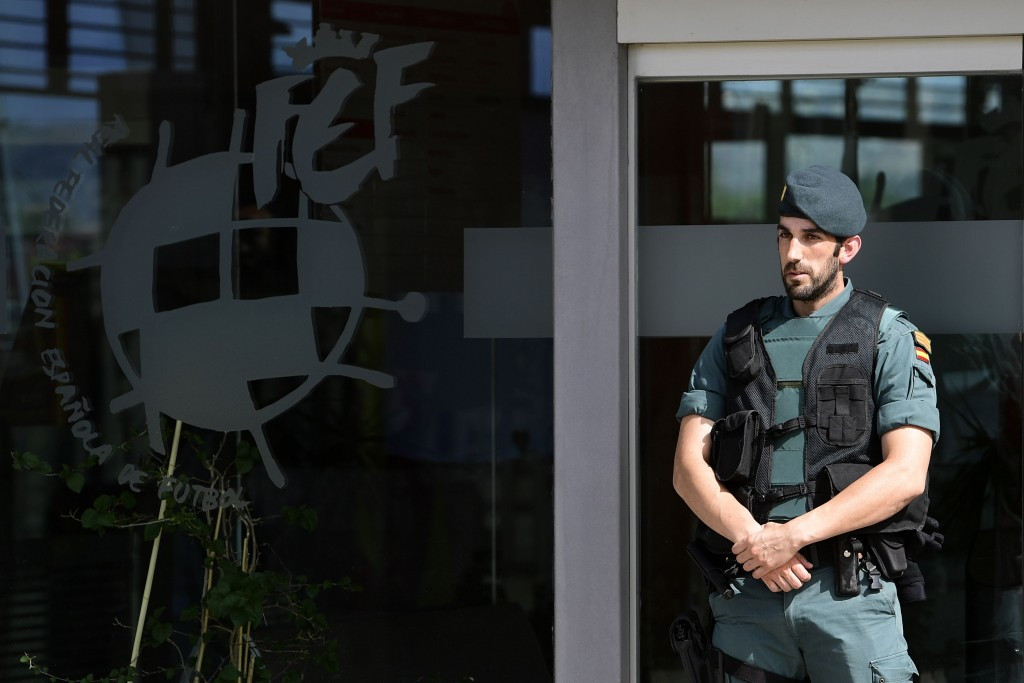 A series of raids were conducted on RFEF offices in Madrid ©Getty Images