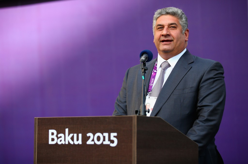 Azerbaijan Sports Minister Azad Rahimov is part of the EOC Coordination Commission for Minsk 2019 ©Getty Images