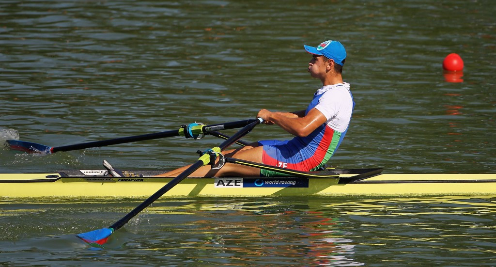 Boris Yotov, who rowed for Azerbaijan at Rio 2016, is set to get the support of the home crowd after switching allegiances to Bulgaria ©Getty Images