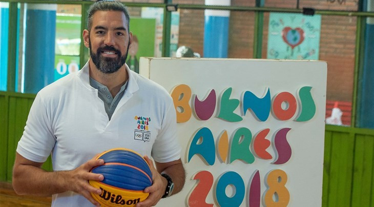 Olympic basketball champion Scola named Buenos Aires 2018 ambassador