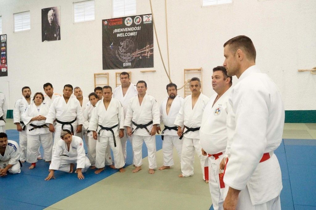 IJF coaches course held in Mexico City