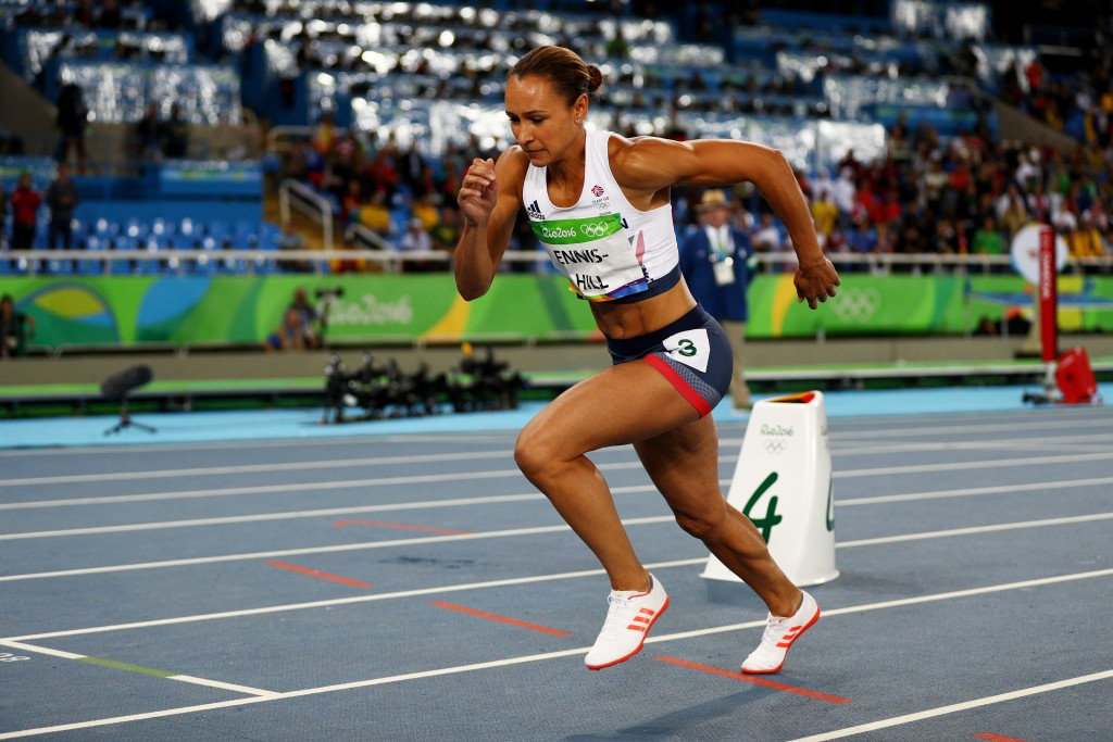 Jessica Ennis-Hill of Britain will now be able to receive her 2011 world title ©Getty Images