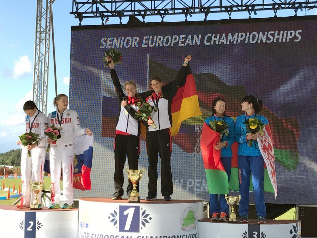 German world champions claim European modern pentathlon relay spoils