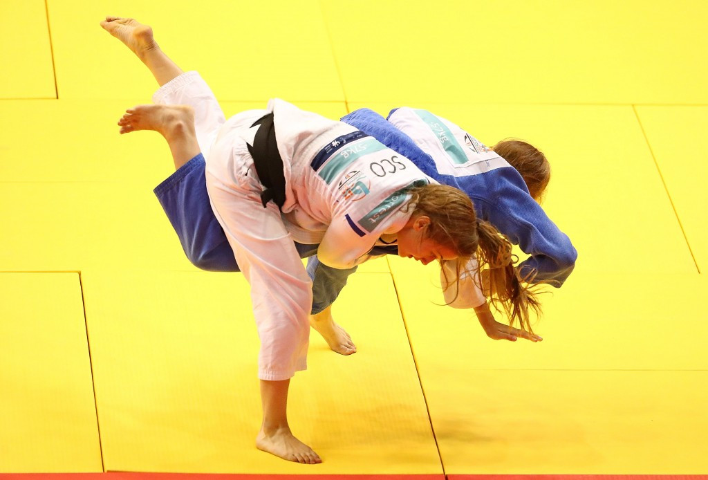 England dominate judo competition at Commonwealth Youth Games