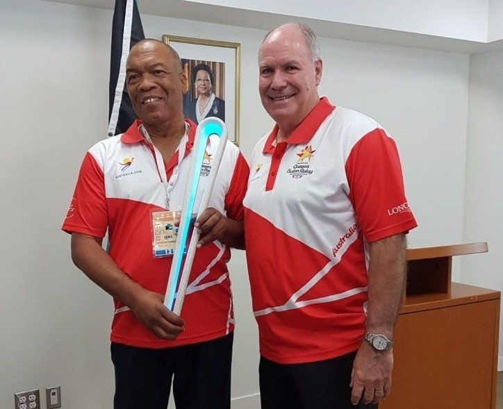 The Queen's Baton arrived in The Bahamas today ©CGF