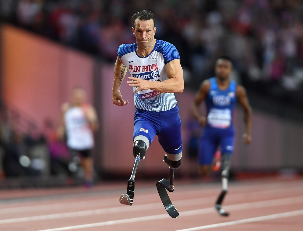 Whitehead questions move to wipe double-leg amputee world records following blade rule changes