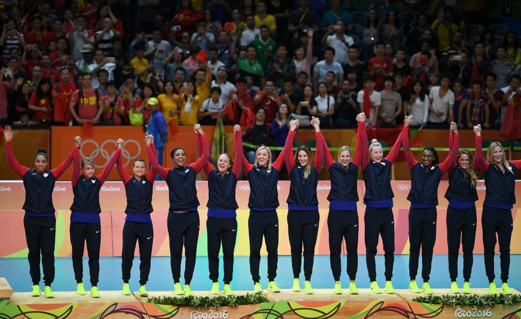 United States secured male and female indoor bronze medals at Rio 2016 ©Getty Images