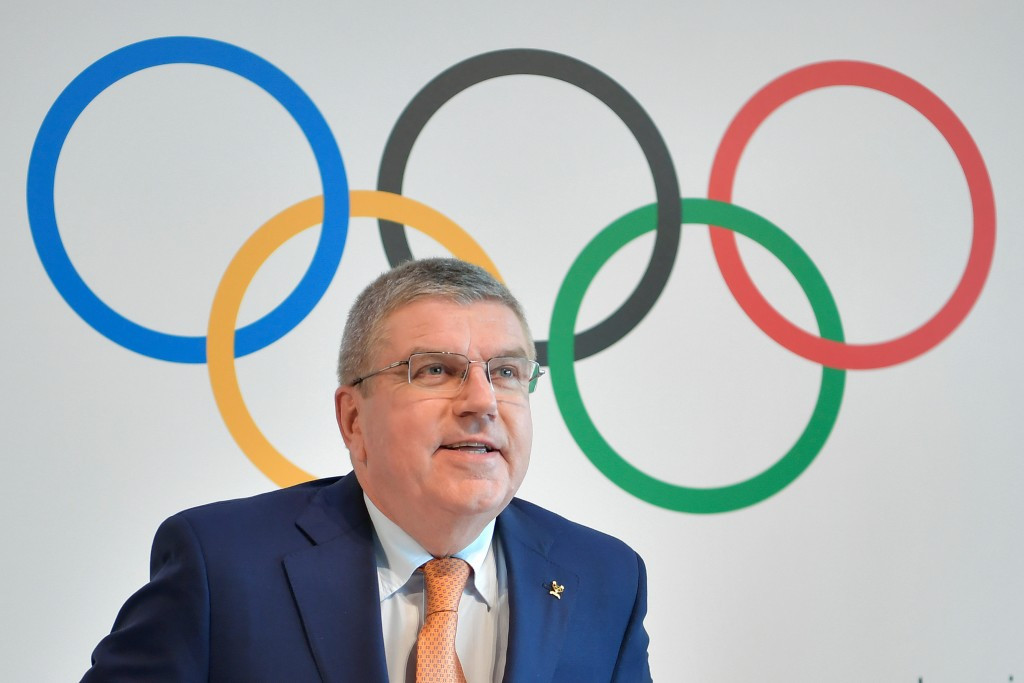 The economic slowdown has hit Thomas Bach's International Olympic Committee ©Getty Images