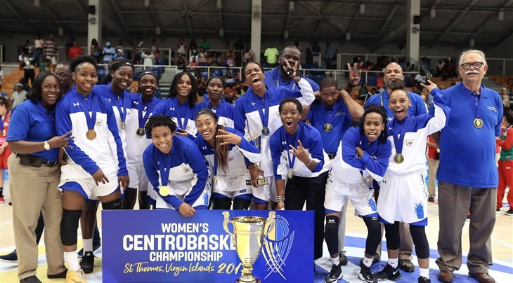 Virgin Islands claim 2017 Women's Centrobasket Championship title