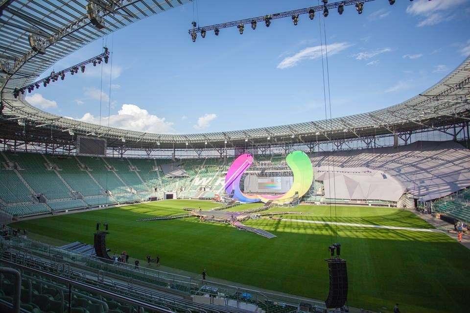 Tomorrow's Opening Ceremony will be staged at the Municipal Stadium ©IWGA