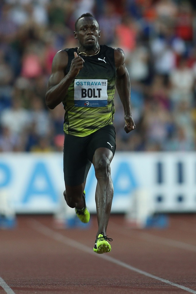 Usain Bolt said he wants to retire on a winning note ©Getty Images