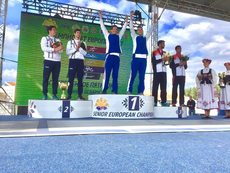 Czech mates turn silver into gold at European Modern Pentathlon Championships