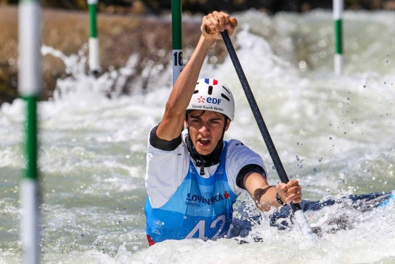 Desnos eases into semi-finals at ICF Under-23 and Junior World Championships
