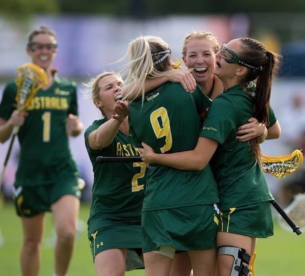 Australia are also through to the last four of the Lacrosse Women's World Cup ©Rathbones WLC17/Facebook