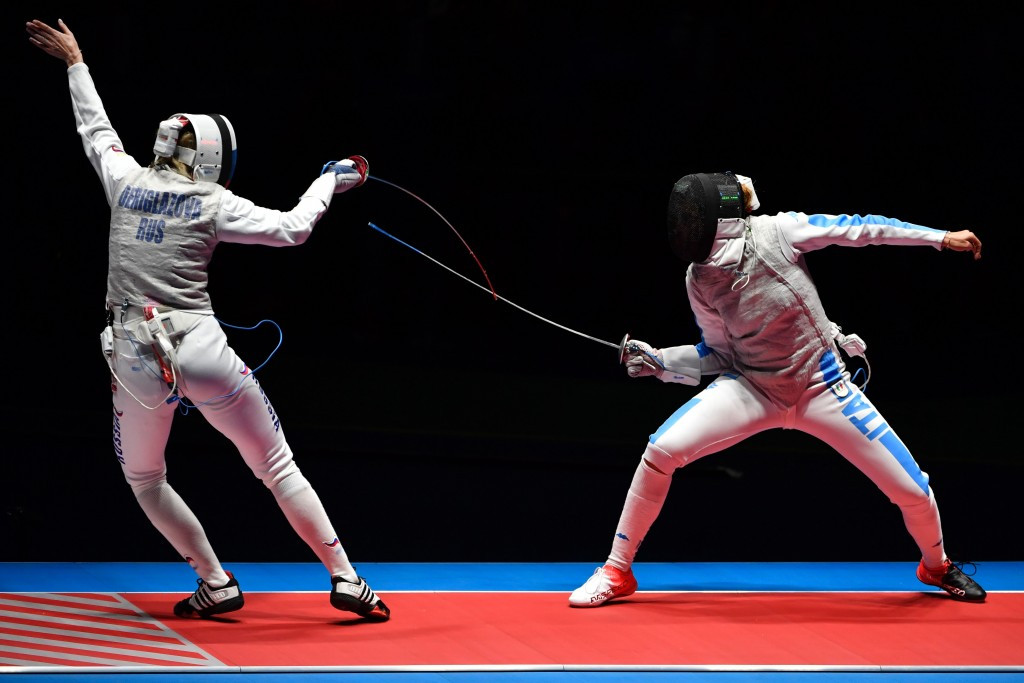 Fencers secure last 64 spots at FIE World Championships