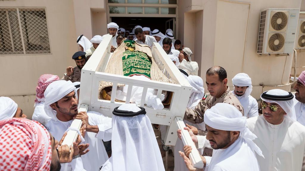 Funeral of UAE athlete Hayayei held in homeland