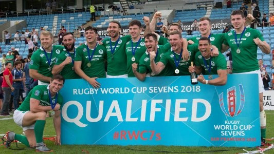 Ireland's men's rugby sevens team have qualified for next year's Rugby Sevens World Cup ©Rugby Sevens World Cup