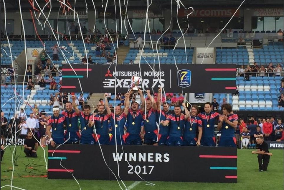 Russia were victorious in Exeter and also sealed their place at the World Cup ©Rugby Sevens World Cup