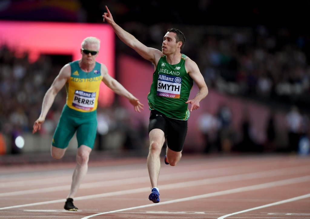 Ireland's Jason Smyth has endorsed calls to make London the permanent home of the World Para Athletics Championships following the success of the Paralympics in 2012 and this year's event ©Getty Images