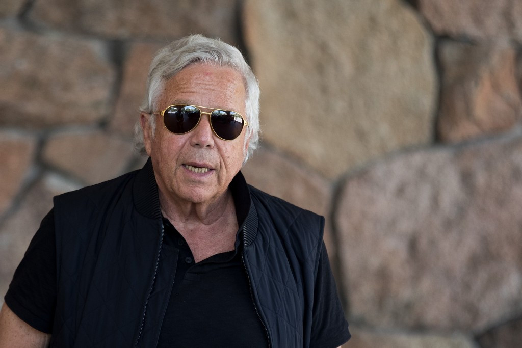 Billionaire Kraft appointed honorary chairman of North American bid for 2026 World Cup