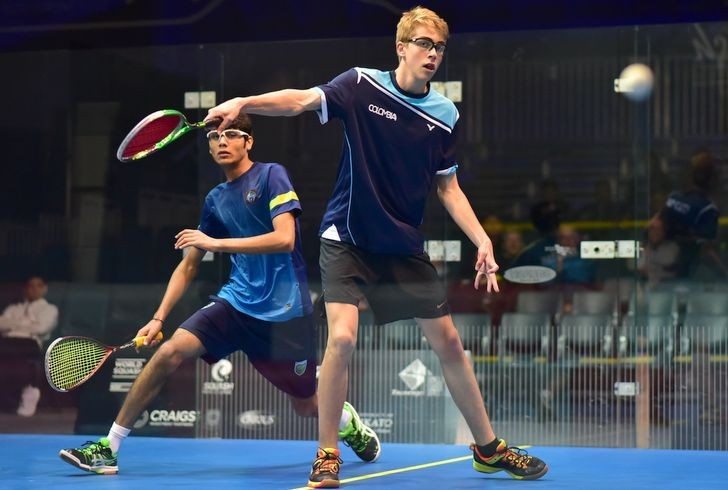 Unseeded Knudsen continues superb run at WSF World Junior Championships