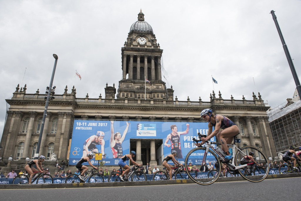 Leeds to host World Triathlon Series event for third consecutive year in 2018