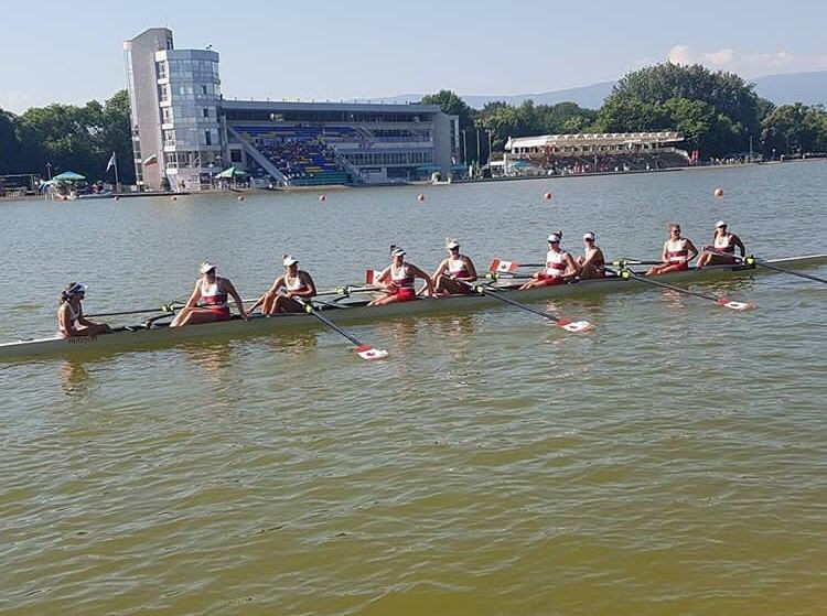 Canada's women's eight set new record at World Rowing Under-23 Championships